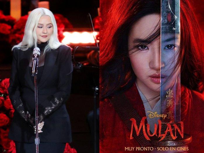 22 Tahun Berlalu Christina Aguilera Kembali Isi Soundtrack Mulan