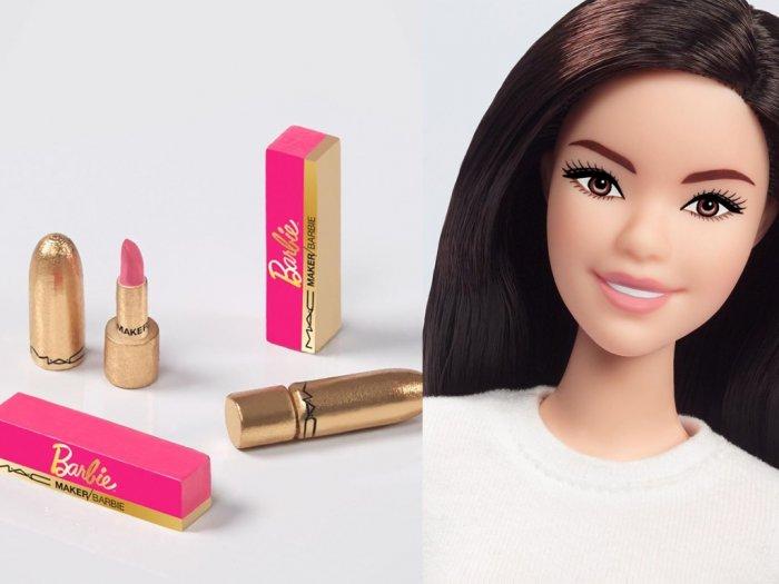 MAC Cosmetics Rilis Lipstik Terbatas Berkolaborasi dengan Barbie
