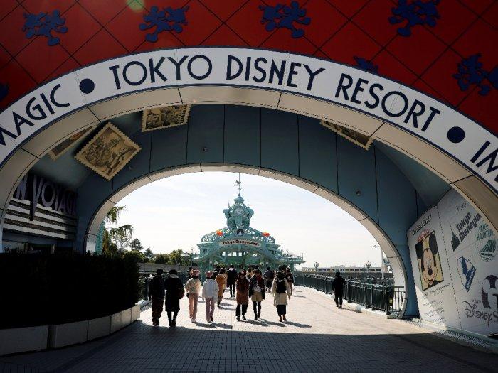 Penutupan Disneyland DisneySea Tokyo dan USJ Diperpanjang