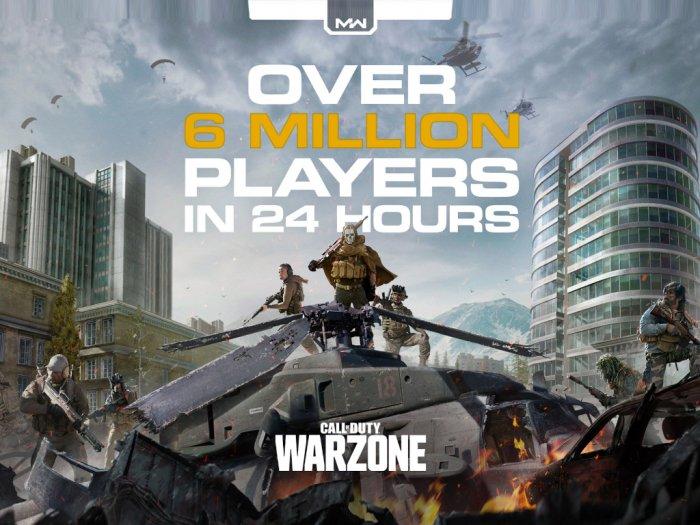 Baru Rilis 1 Hari Call of Duty Warzone Dimainkan Oleh 6 Juta Pemain
