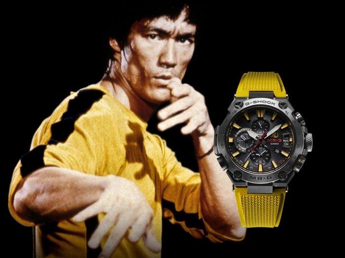 G-Shock Rilis Jam Tangan Edisi Bruce Lee Hanya Dijual 300 Unit Saja