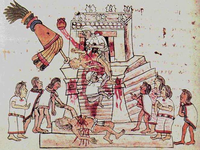 Suku Aztek Suku Indian yang Gemar Mengorbankan Diri Demi Dewa