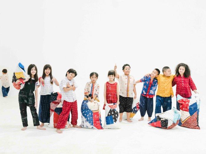 Koleksi Busana Anak dari Serat Alam untuk Mencintai Lingkungan