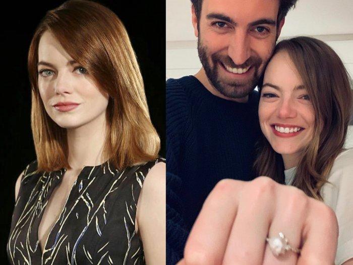 Karena Virus Corona Emma Stone Menunda Pernikahannya