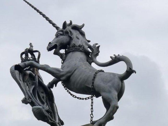 Meski Makhluk Mitologi Unicorn Menjadi Hewan Nasional di Negara Ini