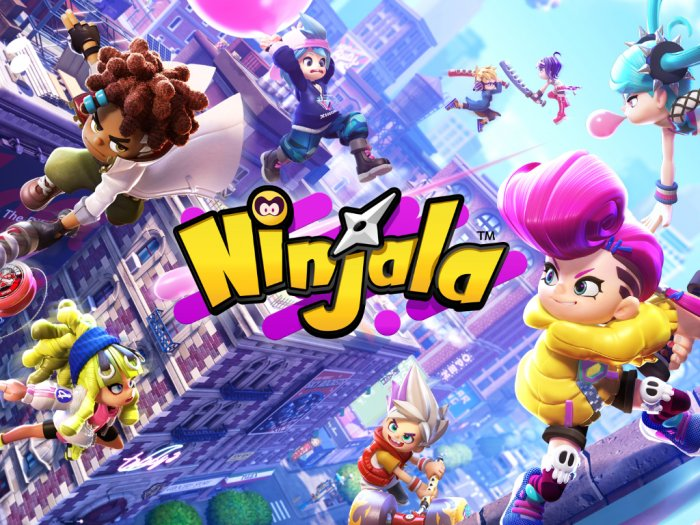 Ninjala Game Battle Royale Eksklusif Nintendo Switch yang Free-to-Play