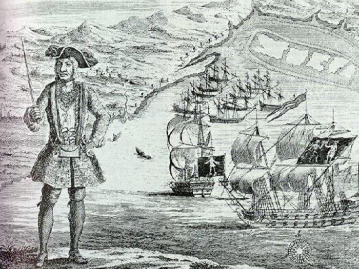 Bartholomew Roberts Bajak Laut Paling Sukses di Zamannya