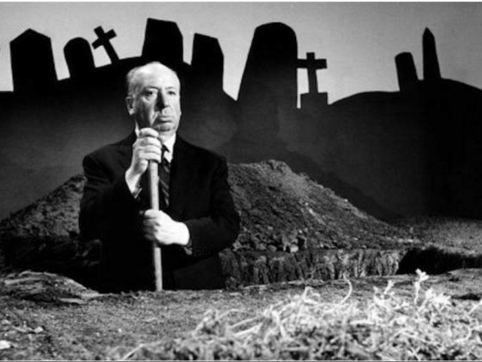 Alfred Hitchcock Raja Suspense yang Takut Nonton Filmnya Sendiri