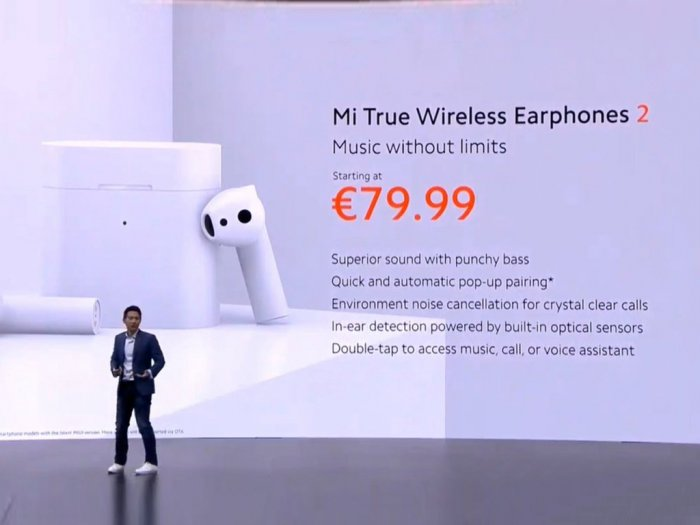 Xiaomi Resmi Luncurkan Mi True Wireless Earphones 2 dengan Codec LDHC
