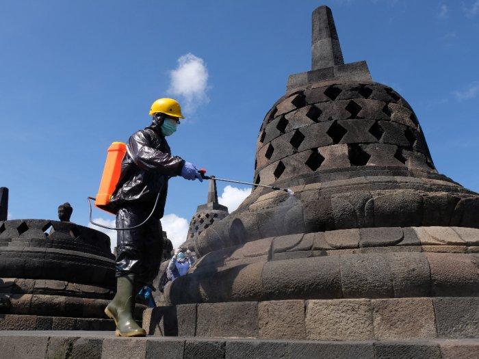 Penutupan Candi Borobudur Prambanan dan Ratu Boko Diperpanjang