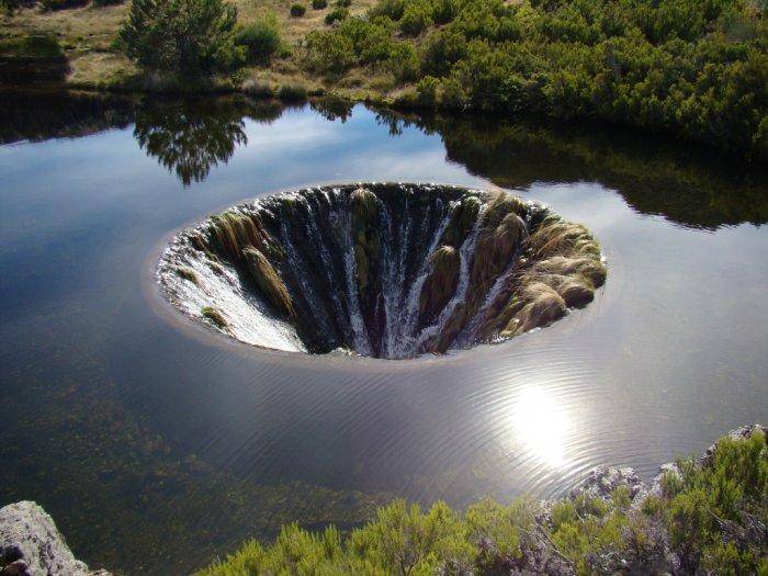 Covao do Conchos Terowongan Bawah Air Layaknya Fenomena Alam