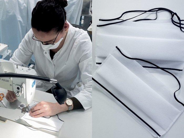 Setelah Produksi Hand Sanitizer untuk Cegah Virus Corona Kini Dior Memproduksi Masker