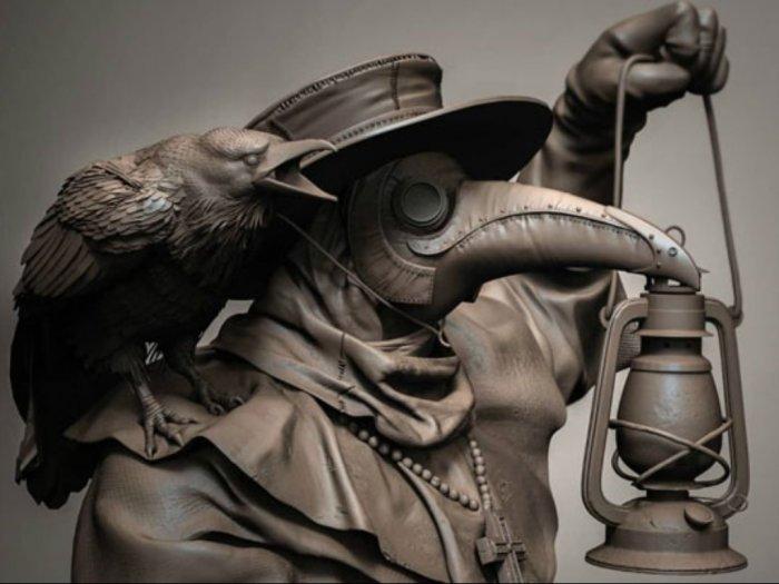 Tangkal Virus Corona Haruskah Pakai Kostum Plague Doctor Seperti di Abad 17