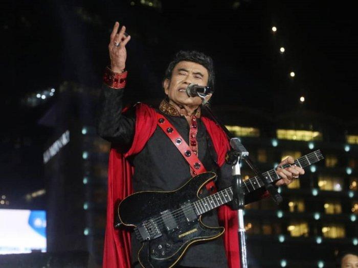 Raja Dangdut Rhoma Irama Ciptakan Lagu Berjudul amp039Virus Coronaamp039