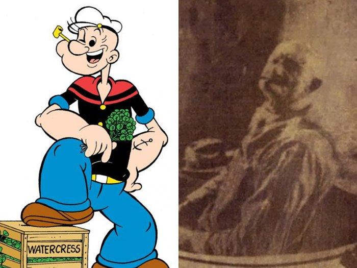 Tokoh Kartun Popeye dan Seorang Pria Kuat yang Menjadi Inspirasinya