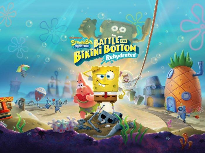 Ini Spesifikasi PC dari Game Spongebob Squarepants Battle of Bikini Bottom Rehydrated