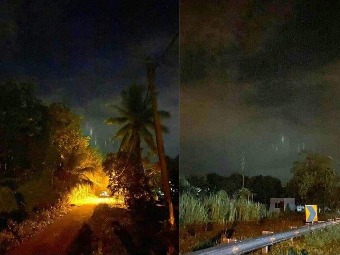 Ada Fenomena Pilar Cahaya Misterius di Langit Pada Hari Pertama Ramadan Pertanda Apa