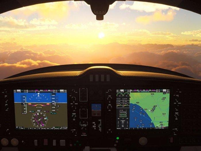 Microsoft Kembali Unggah Screenshot Gameplay Microsoft Flight Simulator 2020