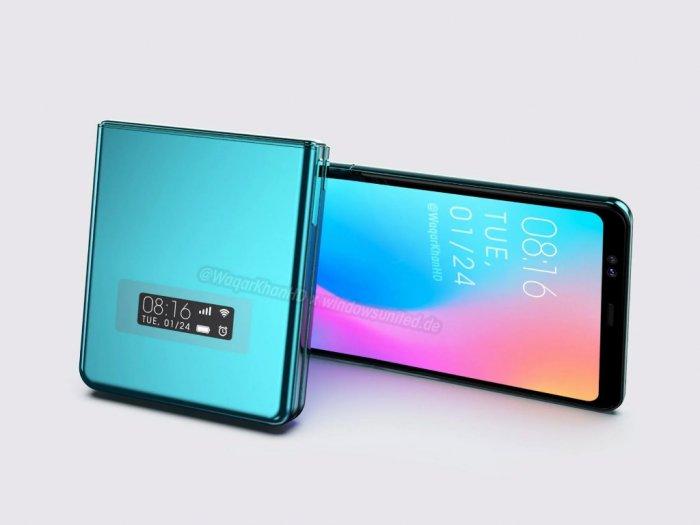Bocoran Smartphone Lipat Xiaomi Beredar Mirip Samsung Galaxy Z Flip