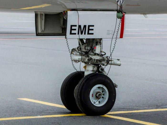 Ini Alasan Dibalik Ban Pesawat Berukuran Kecil