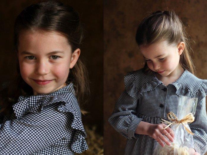 Merayakan Ulang Tahunya Putri Charlotte Bagi-bagi Makanan ke Warga