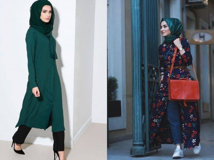 Tetap Stylish dengan Hijab Hijau Botol Ini Inspirasi Outfit Buat Kamu