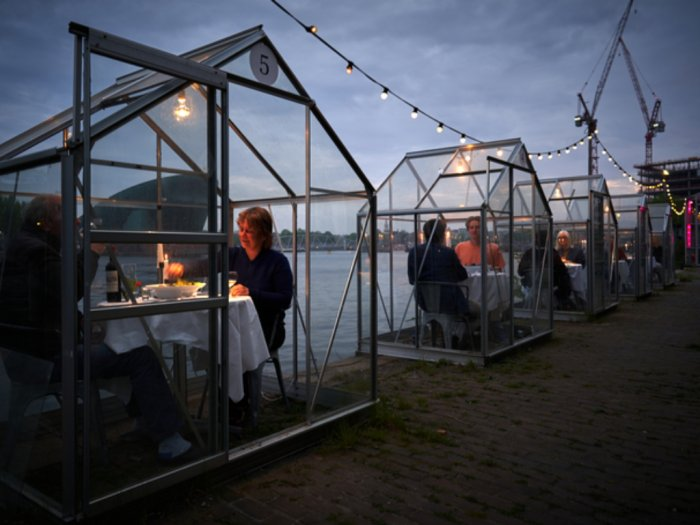 Konsep Unik Restoran di Belanda Agar Pengunjung Bisa Makan di Tempat