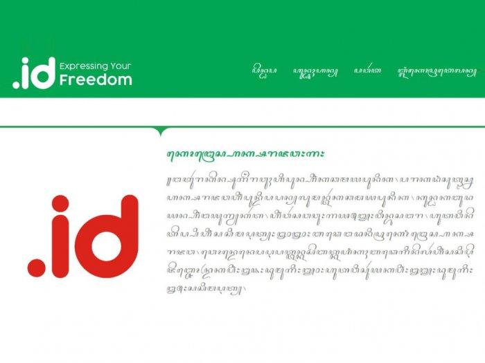 Mantap Pandi Gelar Kompetisi Membuat Website Beraksara Jawa