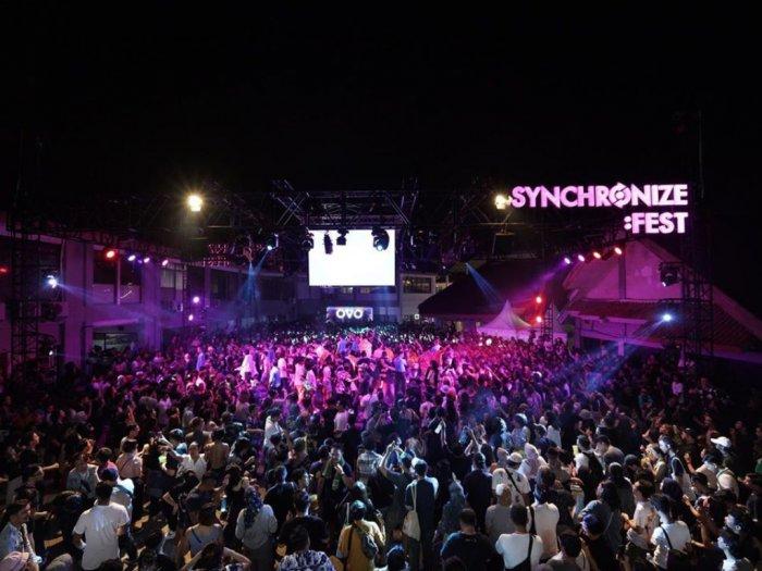 Pekerja Panggung Musik Terimbas Corona Synchronize Fest Galang Donasi
