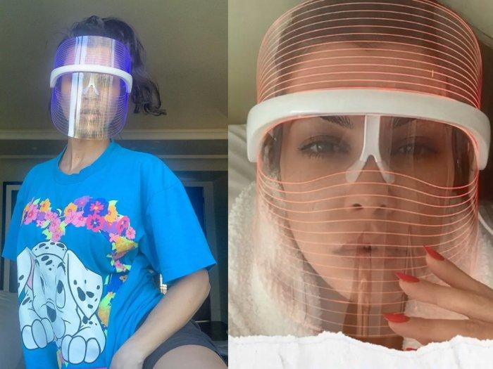 Rilis Face Shield Rp28 Juta Produk Kourtney Kardashian Bikin Warganet Heran