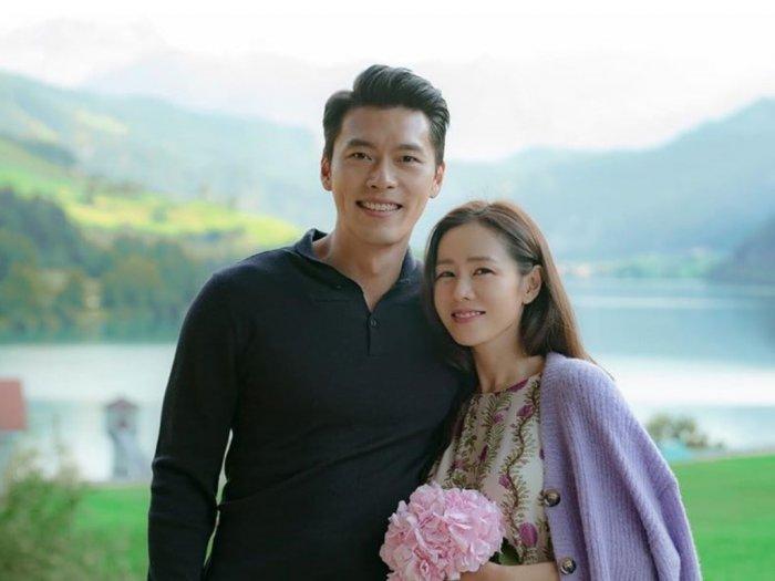 Hyun Bin amp Son Ye Jin Raih Penghargaan Aktor Paling Populer