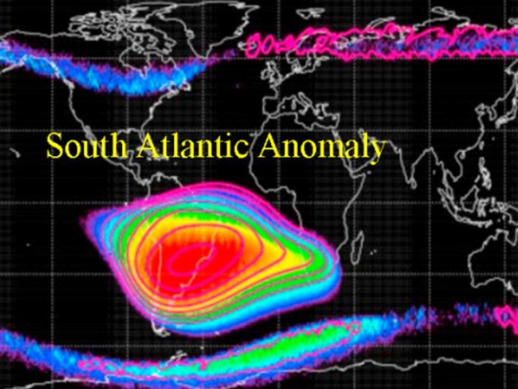 South Atlantic Anomaly Kawasan Misterius Segitiga Bermuda di Angkasa