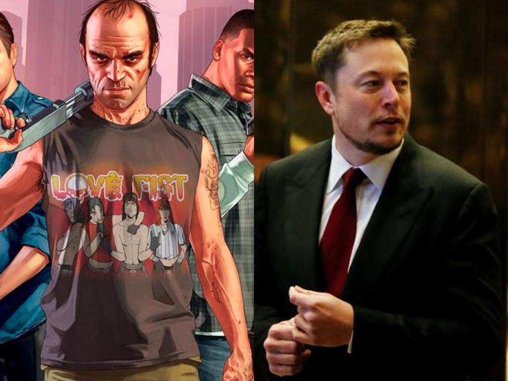 Elon Musk Sebut Mobil Tesla Dapat Mainkan Game GTA di Masa Depan