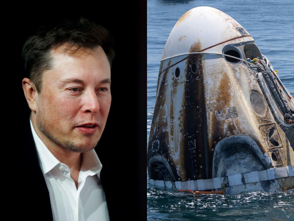 Setelah 2 Astronaut NASA Pulang ke Bumi Elon Musk Mendadak Jadi Lebih Religius