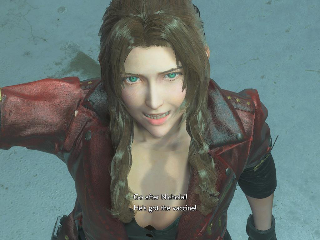 Modder Ini Hadirkan Karakter Aerith dari Final Fantasy ke Resident Evil 3 Remake