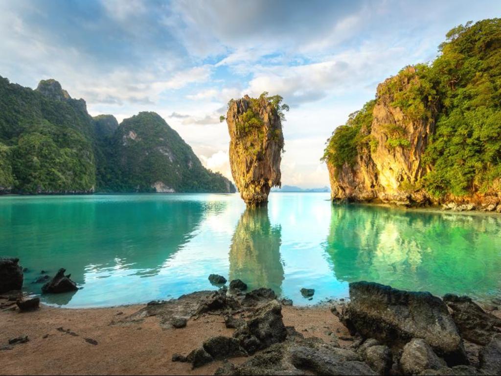FOTO Daftar 10 Besar Pulau Terbaik di Asia 2020
