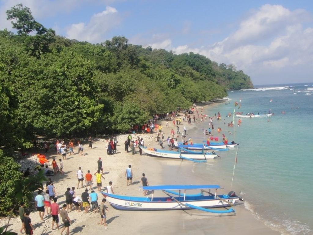 Wisata Pantai Pangandaran Jawa Barat Tarif Tiket Masuk amp Spot Menarik