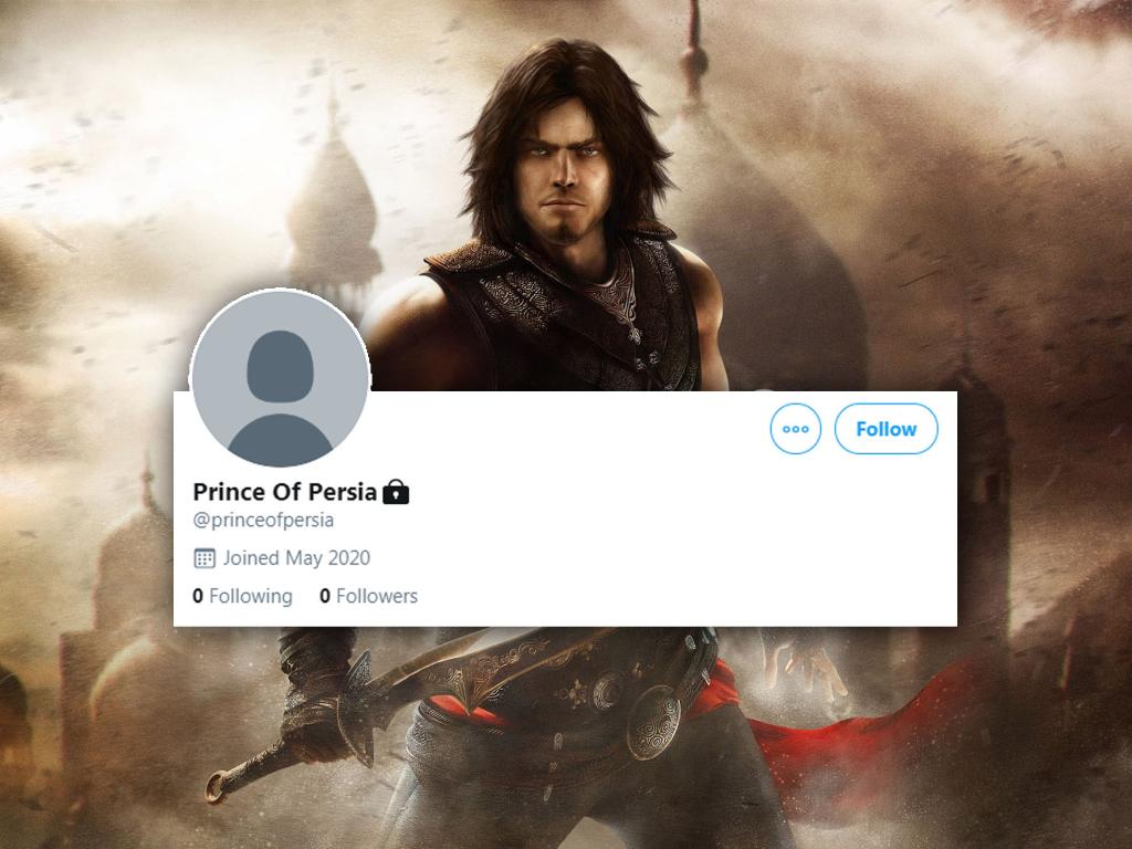 Ubisoft Diam-Diam Buat Akun Twitter untuk Game Prince of Persia