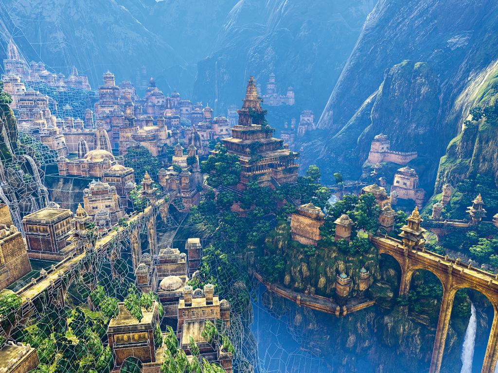 Kerajaan Misterius Shambala yang Tersembunyi di Pegunungan Tibet