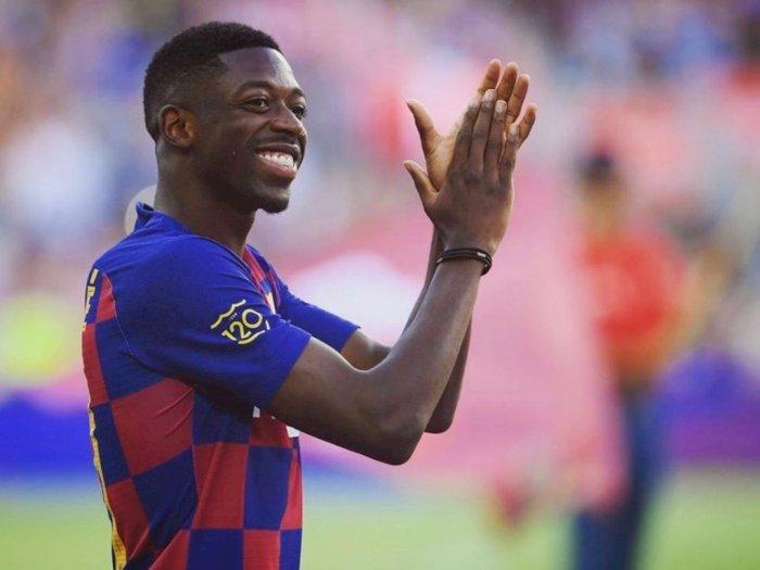 Koeman Konfirmasi Ousmane Dembele Kembali Latihan Bersama Barcelona Pasca Cedera Hamstring