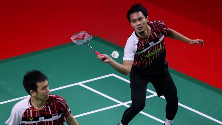 BWF World Tour Finals Momen Smash Ahsan Buat Malaysia Mati Kutu