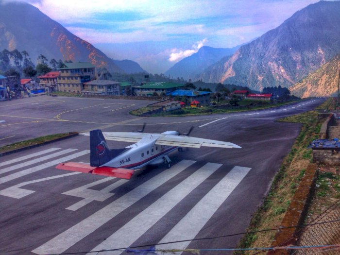 Alasan Bandara Tenzing di Nepal Disebut Bandara Ekstrem