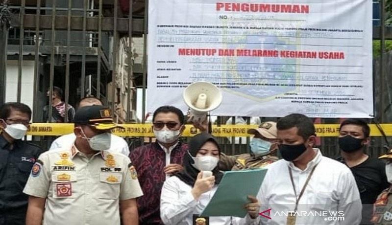 Melanggar Prokes Narkoba Diskotek Monggo Mas Ditutup Permanen