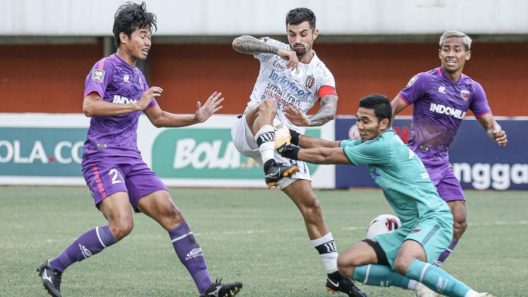 Hasil Pertandingan Piala Menpora Bali United Ditahan Persita