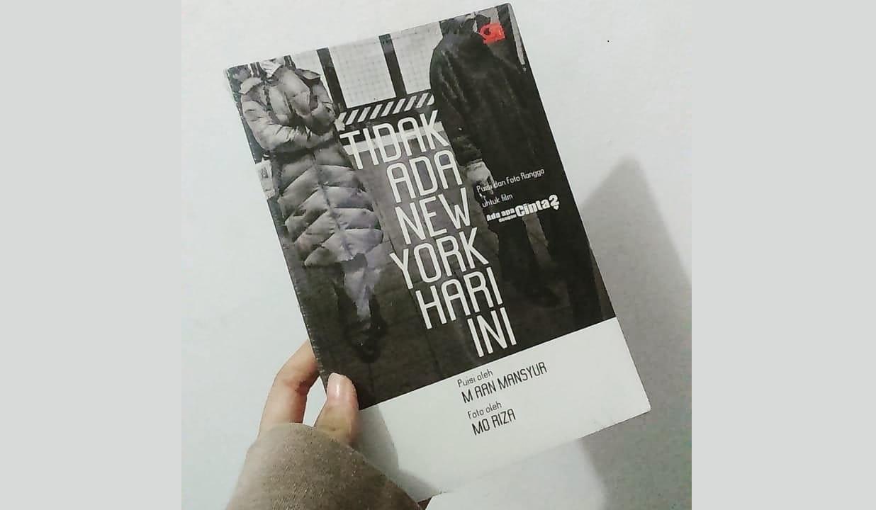 Puisi Romantis Rangga AADC di Buku Tidak Ada New York Hari Ini