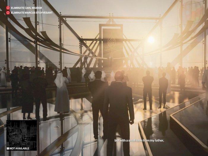Melihat 5 Menit Gameplay HITMAN III dengan Misi Berlokasi di Dubai