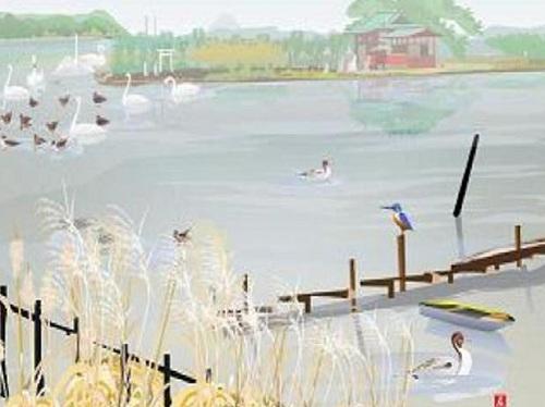Kwikku, Lukisan Sebuah Danau