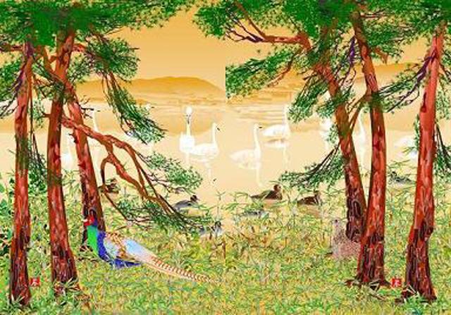 Kwikku, Hutan yang Masih Alami