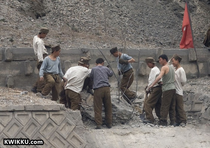 Kwikku, Perbaikan Tembok
