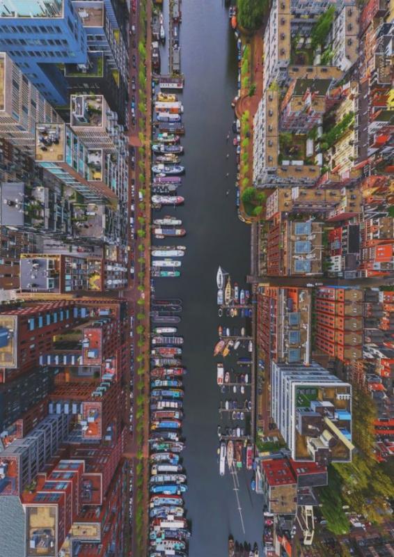 Kwikku, Sungai di Amsterdam